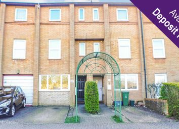 Thumbnail 4 bed terraced house to rent in Kernow Crescent, Fishermead, Milton Keynes