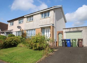 Thumbnail 3 bed semi-detached house for sale in Claymore Drive, Houston, Johnstone