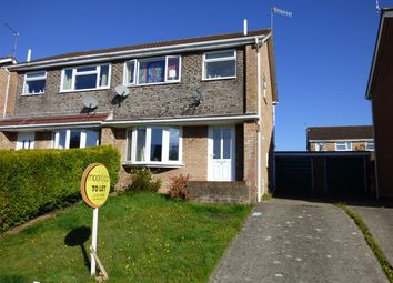 Thumbnail 3 bed semi-detached house to rent in Stuart Avenue, The Danes, Chepstow