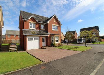 Thumbnail 4 bed detached house for sale in Fernlea Ave, Mauchline