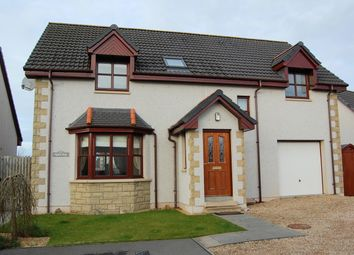 Thumbnail 4 bed detached house for sale in Knockomie Gardens, Forres