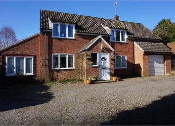 Thumbnail 4 bed detached house for sale in The Street, Sporle, King's Lynn