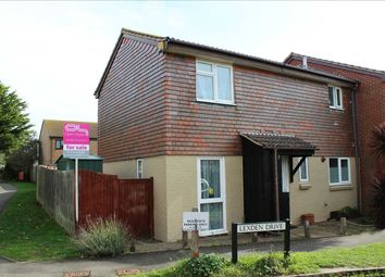 Thumbnail 3 bed end terrace house for sale in Lexden Drive, Seaford