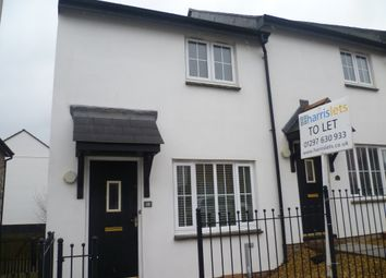 Thumbnail 2 bed end terrace house to rent in Flax Meadow Lane, Axminster