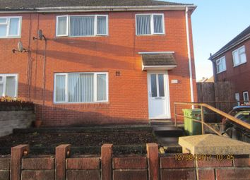 Thumbnail 3 bed semi-detached house to rent in Prendergast Place, Ely, Cardiff