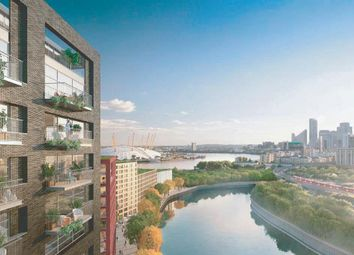 Thumbnail 2 bed flat for sale in Faraday Building, City Island, Canary Wharf, London
