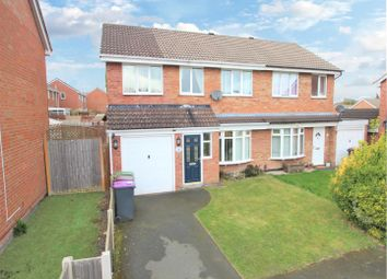 Thumbnail 4 bed semi-detached house for sale in Bramwell Close, St. Georges, Telford