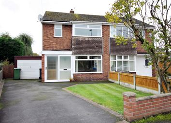 Thumbnail 3 bed semi-detached house for sale in Ribble Close, Culcheth, Warrington, Cheshire