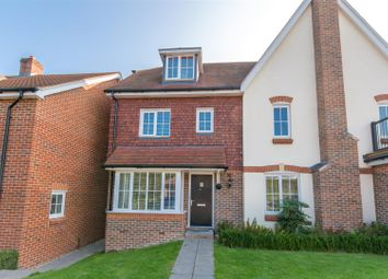 Thumbnail 4 bed semi-detached house for sale in Old Common Way, Uckfield
