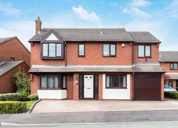 Thumbnail 5 bed detached house for sale in Richmond Drive, Boley Park, Lichfield, Staffordshire