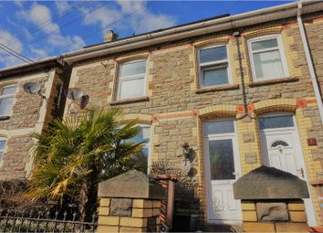 Thumbnail 3 bed terraced house for sale in Islwyn Road, Newport