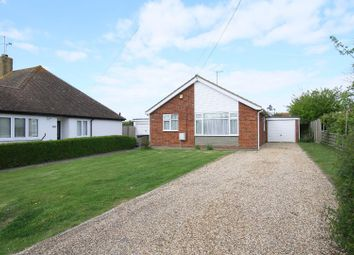 Thumbnail 3 bedroom detached bungalow for sale in Faversham Road, Seasalter, Whitstable