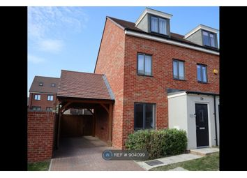 Thumbnail 3 bed semi-detached house to rent in Forrest Shaw, Ebbsfleet Valley, Swanscombe