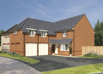 "Thumbnail 4 bedroom detached house for sale in ""Rothbury"" at High Street, Watchfield, Swindon"