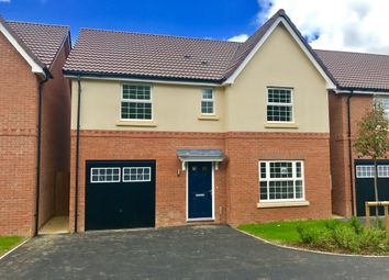 Thumbnail 4 bed detached house for sale in Fairway Meadows, Ullesthorpe, Lutterworth