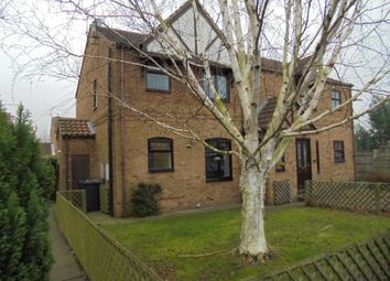 Thumbnail 1 bed semi-detached house to rent in Queen Margarets Avenue, Brotherton, Knottingley