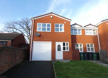 Thumbnail 4 bed semi-detached house to rent in Waggon Street, Cradley Heath
