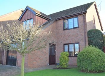 Thumbnail 4 bed detached house for sale in Gillatts Close, Wrawby, Brigg