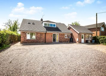 Thumbnail 6 bed detached bungalow for sale in Huxley Lane, Tiverton, Tarporley