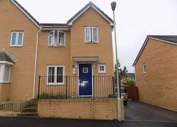 Thumbnail 3 bed semi-detached house for sale in Heol Bryncethin, Sarn, Bridgend.