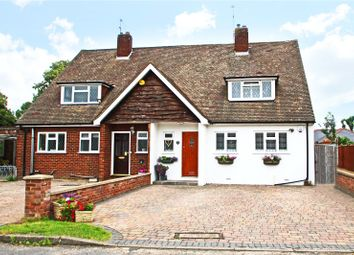 Thumbnail 3 bed bungalow for sale in Hatch Close, Addlestone, Surrey