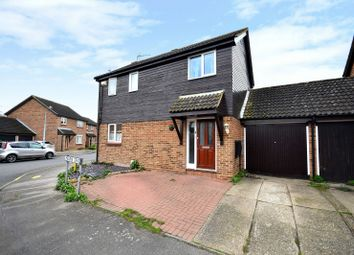 Thumbnail 3 bed detached house for sale in Limbourne Drive, Heybridge