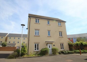 Thumbnail 4 bed link-detached house for sale in Wagtail Crescent, Portishead, Bristol