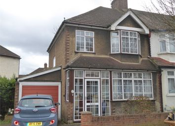 Thumbnail 3 bed end terrace house for sale in Cromer Road, London