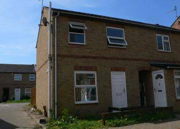 Thumbnail 2 bed semi-detached house to rent in St Martins Street, Peterborough