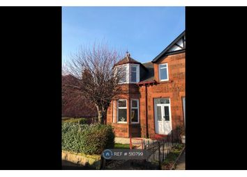 Thumbnail 3 bedroom end terrace house to rent in Durward Avenue, Glasgow