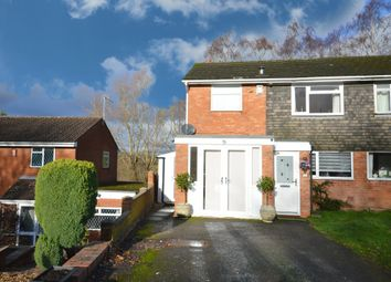 Thumbnail 3 bed semi-detached house for sale in Lawford Grove, Shirley, Solihull