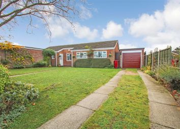 Thumbnail 3 bed detached bungalow for sale in Blackthorn Close, Scunthorpe
