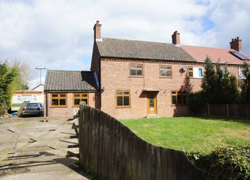 Thumbnail 3 bed semi-detached house for sale in Low Street, Ilketshall St. Margaret, Bungay