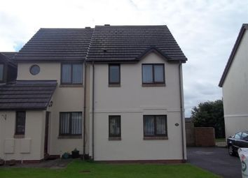 Thumbnail 2 bed semi-detached house to rent in Honeyborough Grove, Neyland, Milford Haven