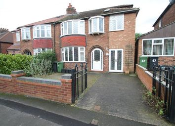 Thumbnail 4 bedroom semi-detached house for sale in Nunthorpe Crescent, York, North Yorkshire