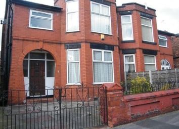 Thumbnail 3 bed semi-detached house to rent in Barlow Road, Stretford, Manchester