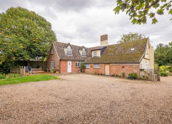 Thumbnail 4 bed detached house for sale in Bardwell, Bury St Edmunds, Suffolk