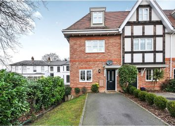 Thumbnail 4 bed end terrace house for sale in Kingswood Road, Bromley