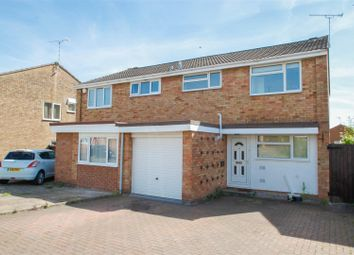 Thumbnail 3 bed semi-detached house for sale in Mullard Drive, Whitnash, Leamington Spa