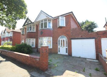 Thumbnail 4 bed semi-detached house for sale in Stothard Road, Stretford, Manchester