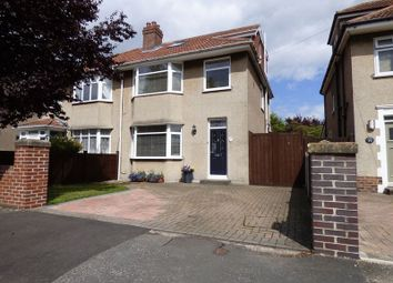 Thumbnail 4 bed semi-detached house for sale in Shaftesbury Road, Weston-Super-Mare