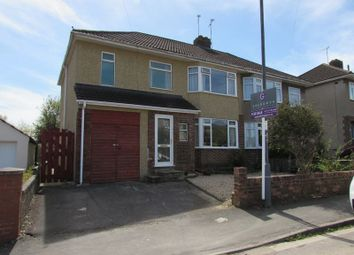 Thumbnail 4 bed semi-detached house for sale in Dunster Road, Keynsham, Bristol