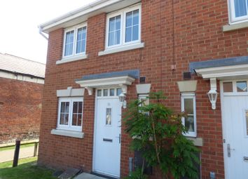 Thumbnail 2 bed terraced house for sale in Manor Court, Newbiggin-By-The-Sea