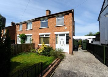 Thumbnail 3 bed semi-detached house for sale in Sandhill Parade, Ballyhackamore, Belfast