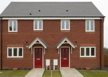 Thumbnail 3 bed semi-detached house for sale in Off Cropston Road, Anstey