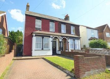 Thumbnail 3 bed semi-detached house for sale in West View Road, Swanley