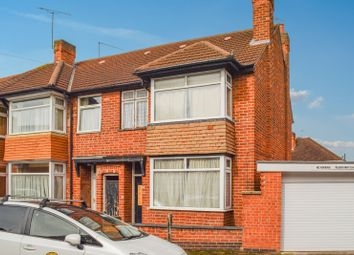Thumbnail 3 bed end terrace house for sale in Herschell Street, Off London Road, Leicester