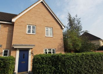 Thumbnail 3 bed semi-detached house for sale in Holly Blue Road, Wymondham