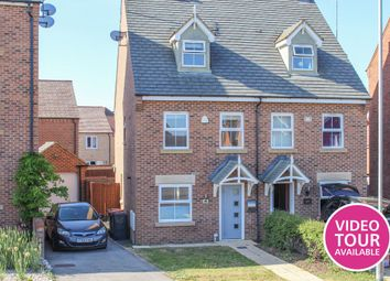 Thumbnail 3 bed semi-detached house for sale in Kestrel Way, Leighton Buzzard