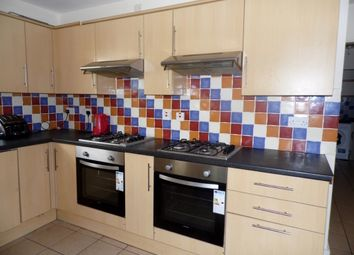 Thumbnail 7 bed terraced house to rent in Wyeverne Road, Cathays, Cardiff